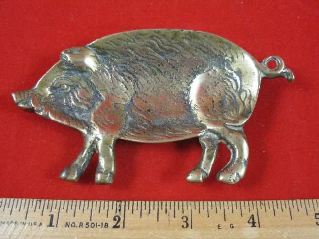 Wild Boar brass pipe rest