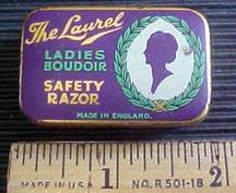 Laurel ladies razor