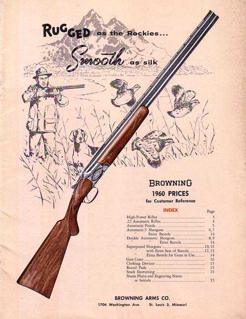 1960 browning customer reference catalog