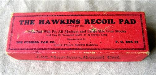 Box for Hawkin recoil pad
