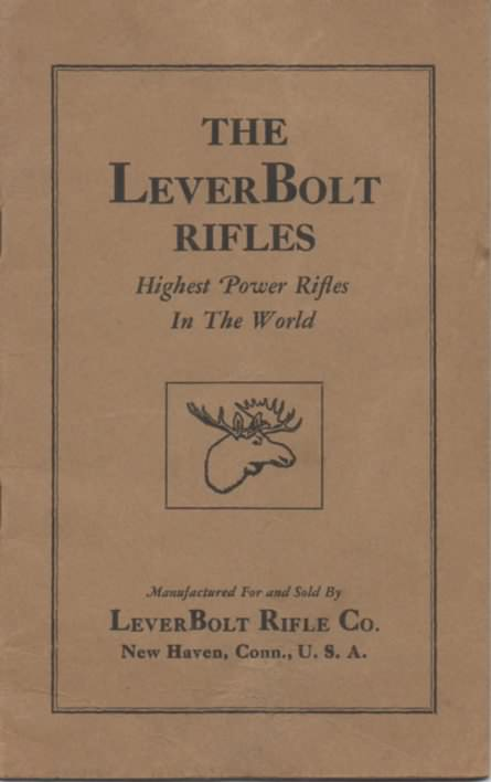 Lever Bolt rifle catalog