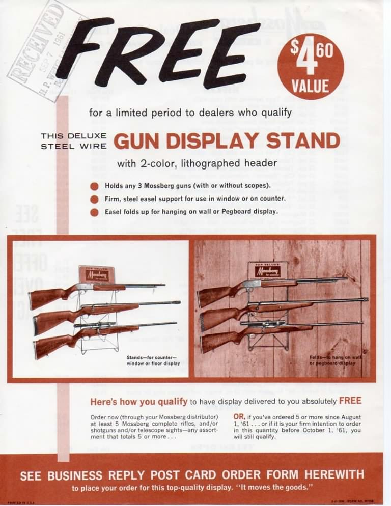 Mossberg flyer 1961