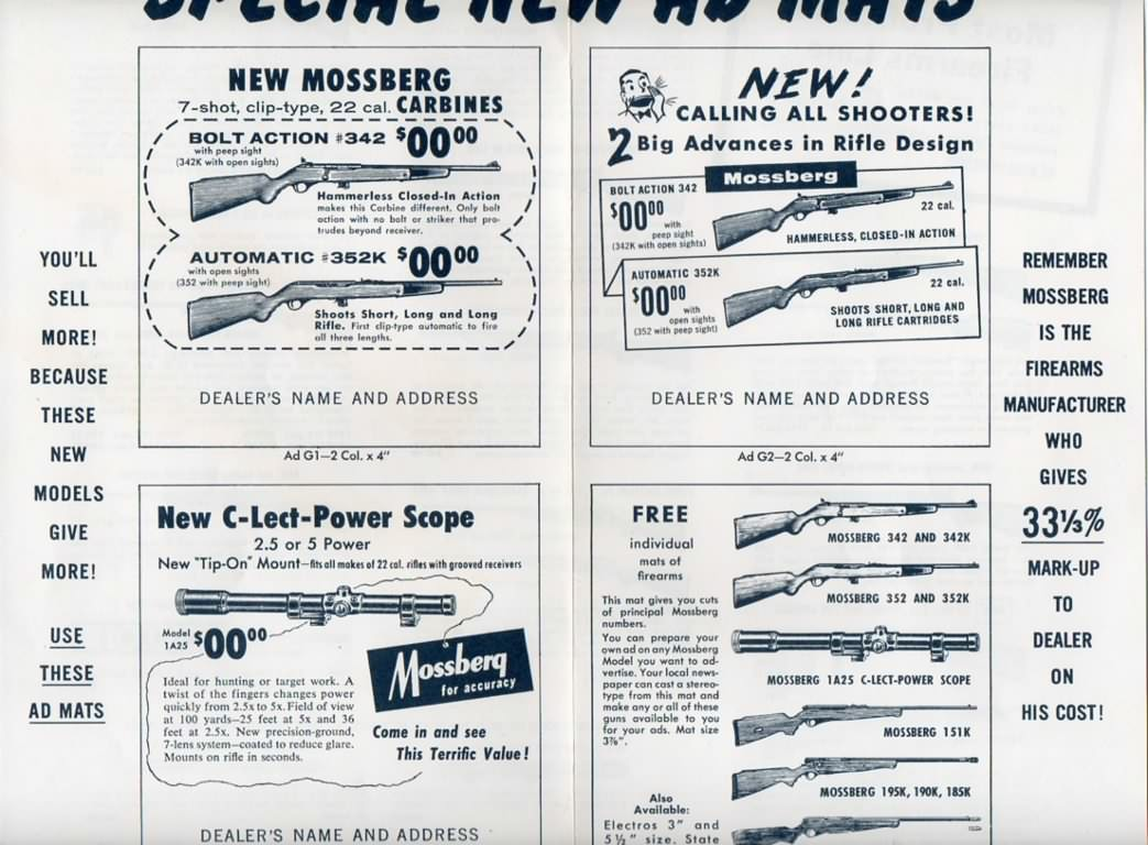 mossberg 1957 flyer