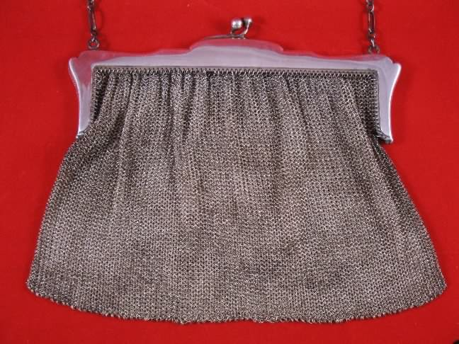 Ladies mesh (chain mail) purse