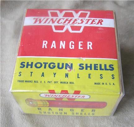 Winchester ranger shot shell box