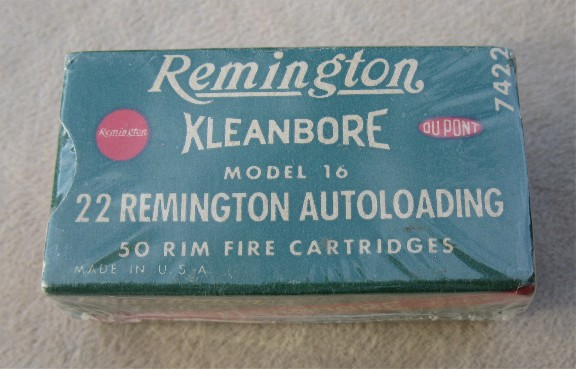 remington autoloading 22 model 16