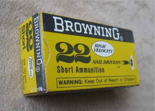 Browning 22 ammunition short