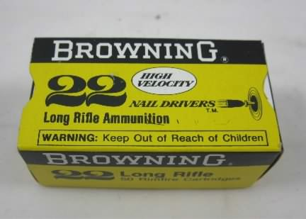 Browning 22 ammunition