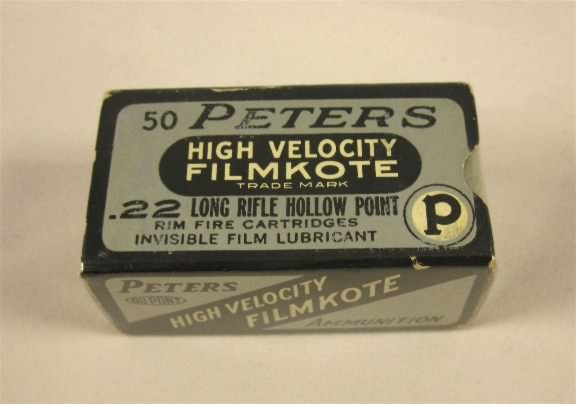 peters 22 long rifle hollow point