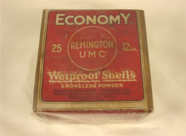 remington economy shot shell box