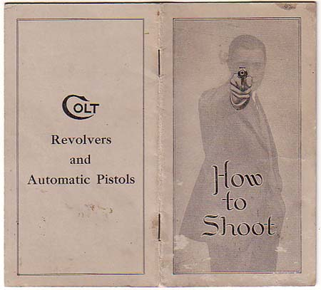Colt how to shoot A