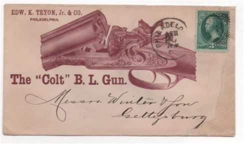 colt breech loading shotgun