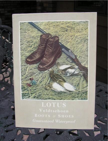 lotus hunting boots