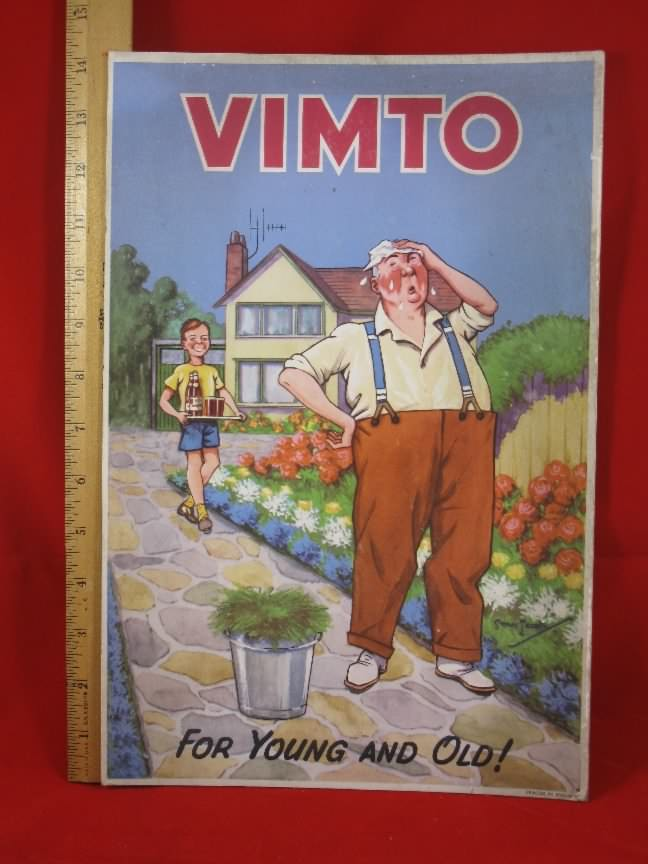 vimto quack medical sign