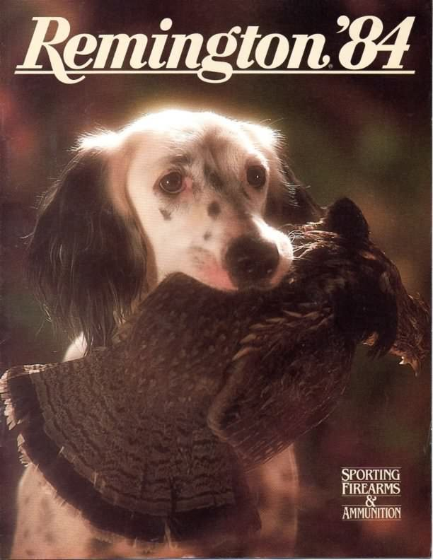 remington 1984 gun catalog