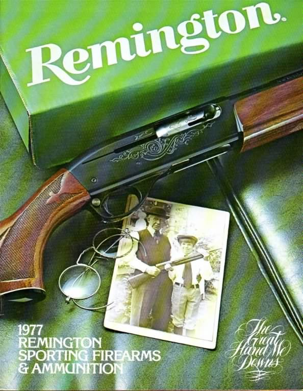 remington 1977 gun catalog