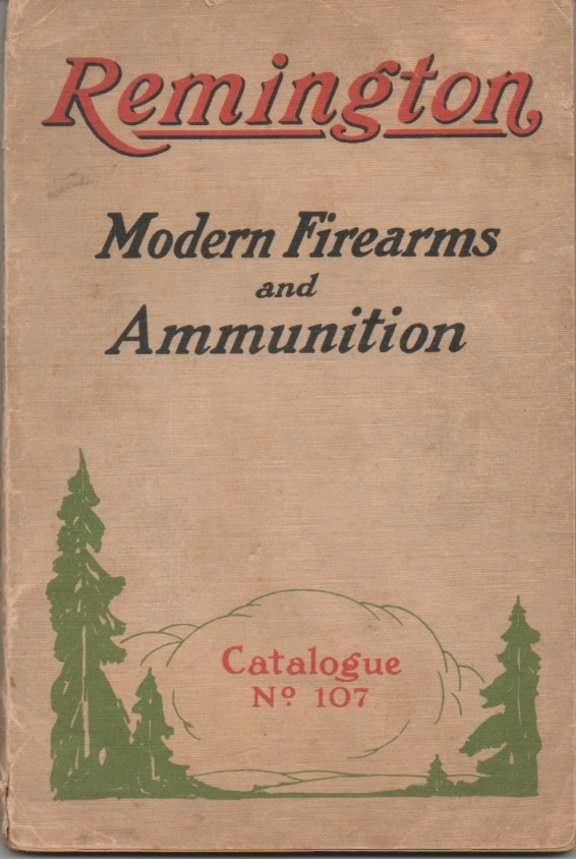 Remington gun catalog 1923