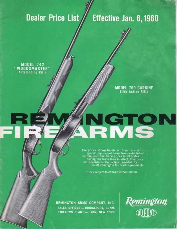 remington 1960 catalog
