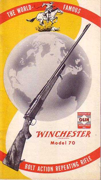 W 23882 Winchester Booklet Model 70