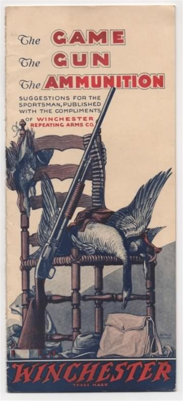 "Winchester ""the game, the gun, the ammunition"""